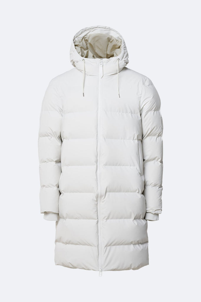 LONG PUFFER JACKET BLANCO