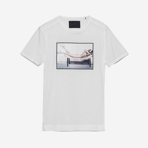 CAMISETA LAY OVER X NORMAN PARKINSON BLANCA