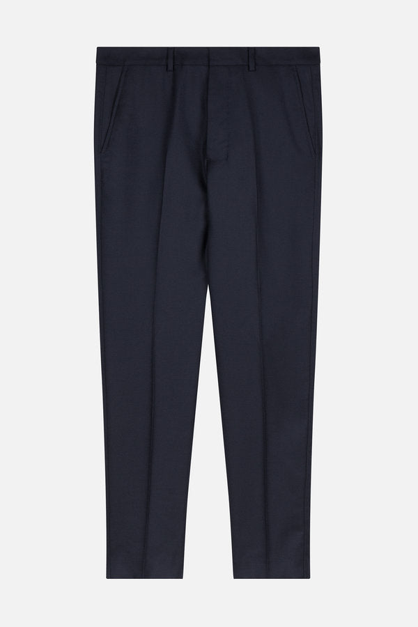 CARROT FIT TROUSERS NAVY