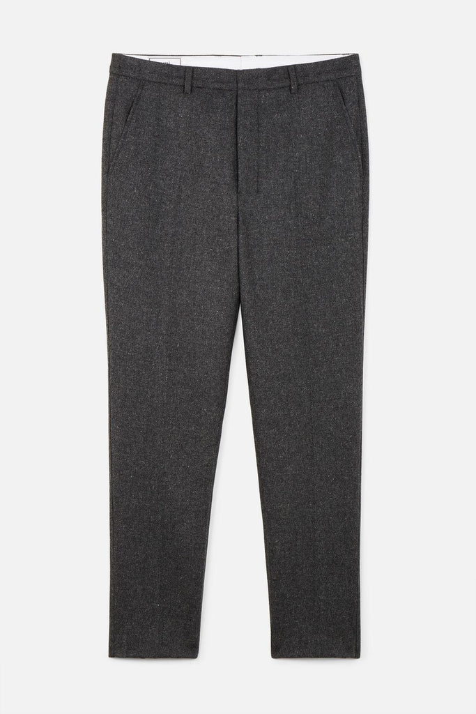 CARROT FIT TROUSERS GRIS OSCURO