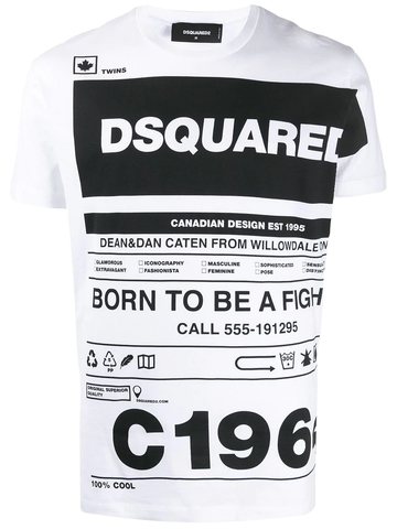 CAMISETA BORN TO BE A FIGHTER