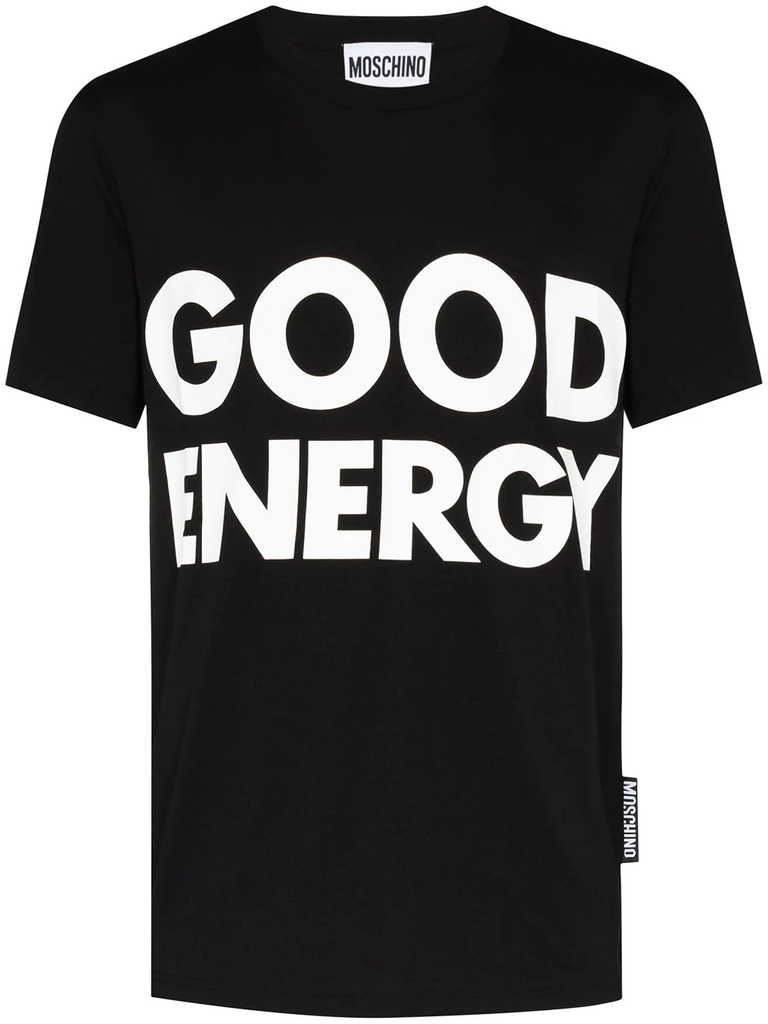 CAMISETA GOOD ENERGY NEGRA