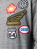 SUDADERA PARCHES ROUTE 64