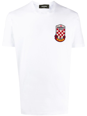 CAMISETA BLANCA PARCHE THE BROTHERS UNITED