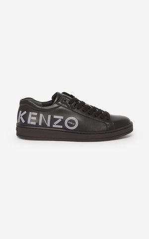 ZAPATILLAS TENNIX LOGO NEGRAS