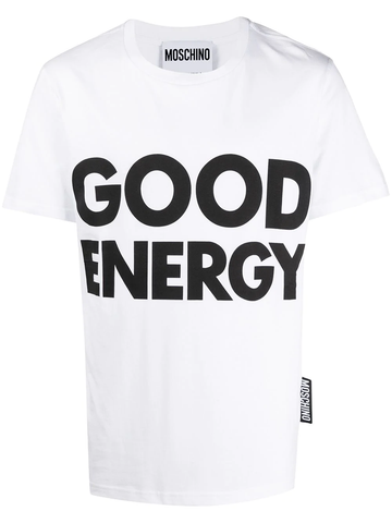 CAMISETA GOOD ENERGY BLANCA