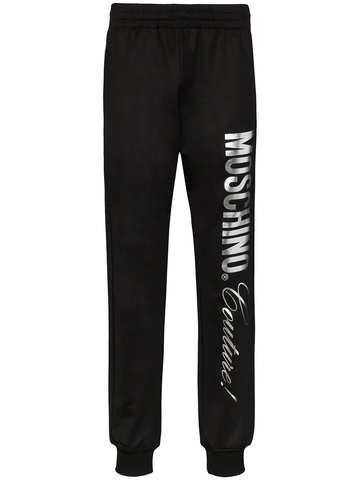 PANTALON CHANDAL NEGRO MOSCHINO COUTURE