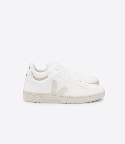 V-12 BASTILLE CHROMEFREE LEATHER EXTRA WHITE PIERRE (UNISEX)