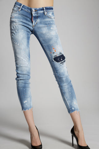 TRASH LIGHT BLUE WASH JENNIFER JEANS
