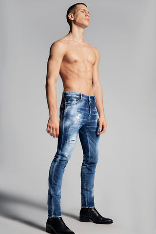 VAQUEROS SKINNY DAN ORANGE COUNTRY WASH