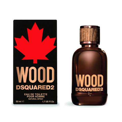 DSQUARED2 WOOD EAU DE TOILETTE 50ML
