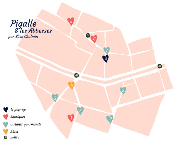 Paris City Guide : Pigalle & Les Abbesses