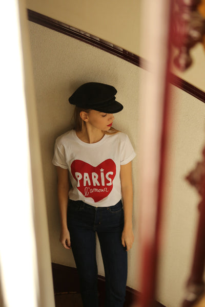 T-shirt Bio Paris L'Amour