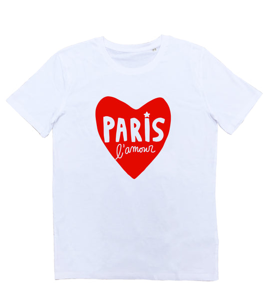 T-shirt Paris l'Amour Homme