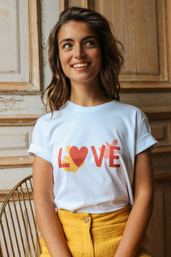 T-shirt imprimé Love