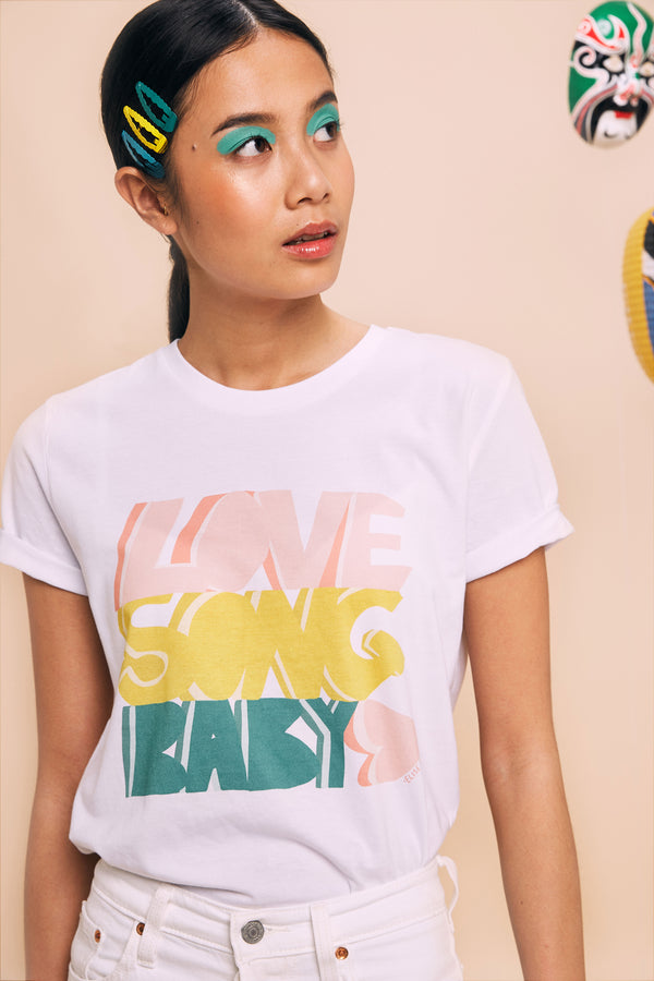 T-shirt Love Song Baby