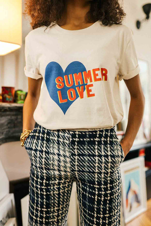 T-shirt imprimé Summer Love