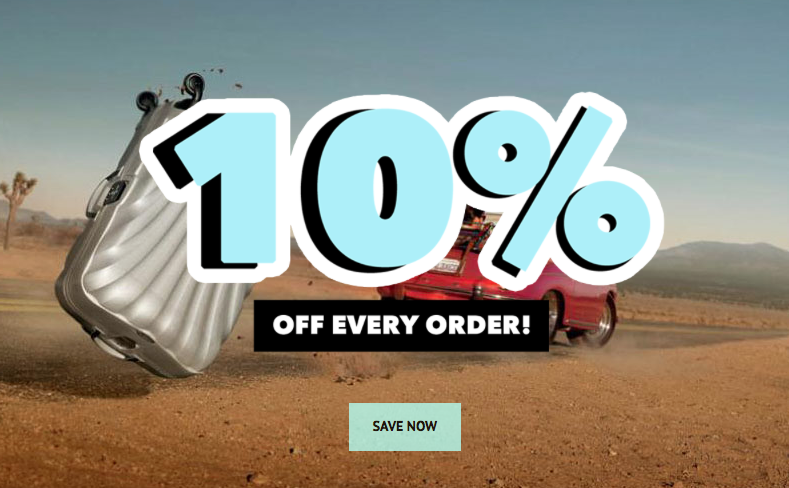 10% OFF EVERY ORDER!