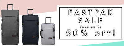Up to 50% off Eastpak!