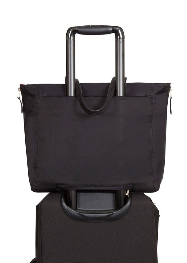"Mayfair Grosvenor Place 15"" Tote Bag Black/gold"