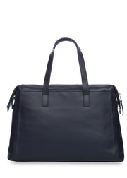 "Knomo Mayfair Luxe Audley 14"" Slim Leather Bag - London Luggage"