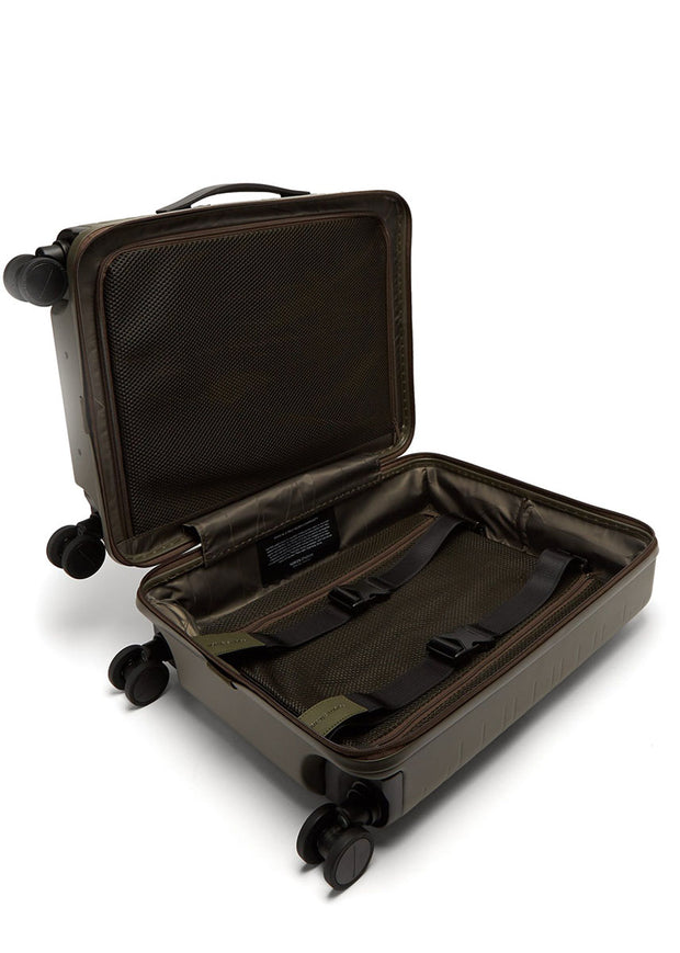 Horizn M5 Cabin luggage- Dark Olive - London Luggage