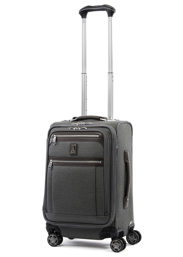 Travelpro Platinum Elite 57cm Expandable Business Spinner Vintage Grey - London Luggage