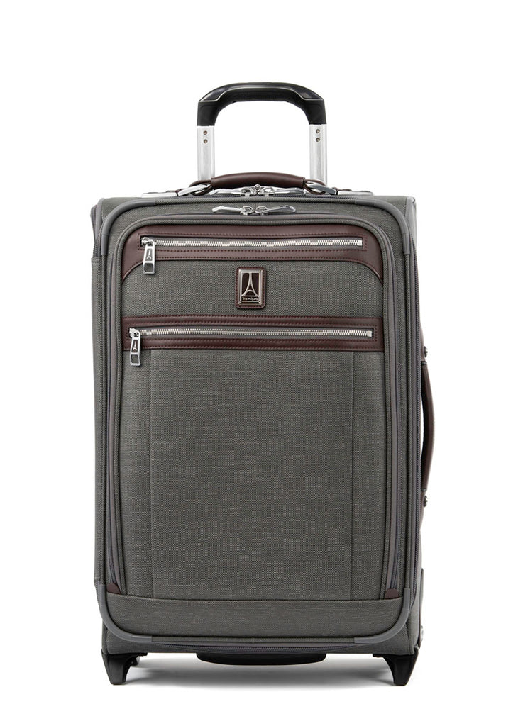 Travelpro Platinum Elite 58cm Expandable Rollaboard Suiter - Vintage Grey - London Luggage
