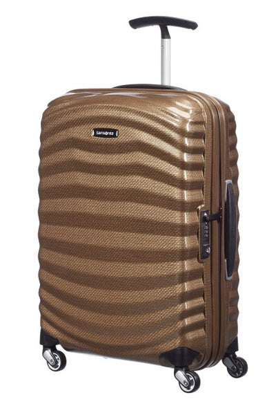 Samsonite Lite-Shock Cabin Spinner- Bronze - London Luggage