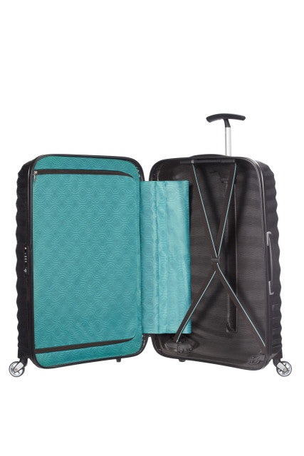 Samsonite Lite-Shock Spinner 75cm- Petrol - London Luggage