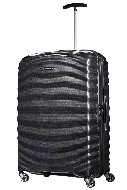 Samsonite Lite-Shock Spinner 81cm - Black - London Luggage