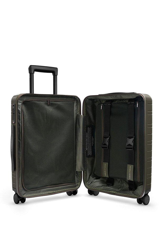 Horizn H5 Cabin luggage- Dark Olive - London Luggage