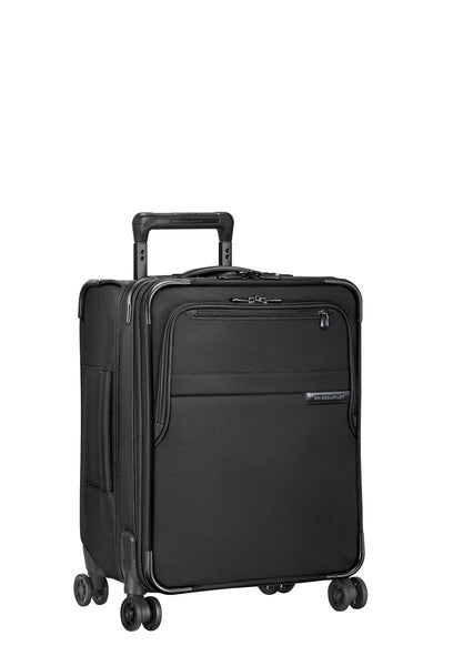 Briggs & Riley Baseline International Carry-On Expandable Wide-Body Spinner + Free B&R Toiletry kit! - London Luggage