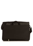 "Knomo Brompton Classic Bungo 15.6"" Expandable Leather Messenger - London Luggage"