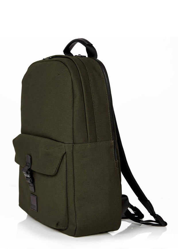 "Knomo Fulham Christowe 15"" Backpack Green - London Luggage"