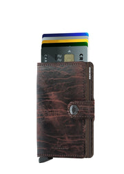 Secrid Miniwallet Dutch Martin Cocoa Brown - London Luggage
