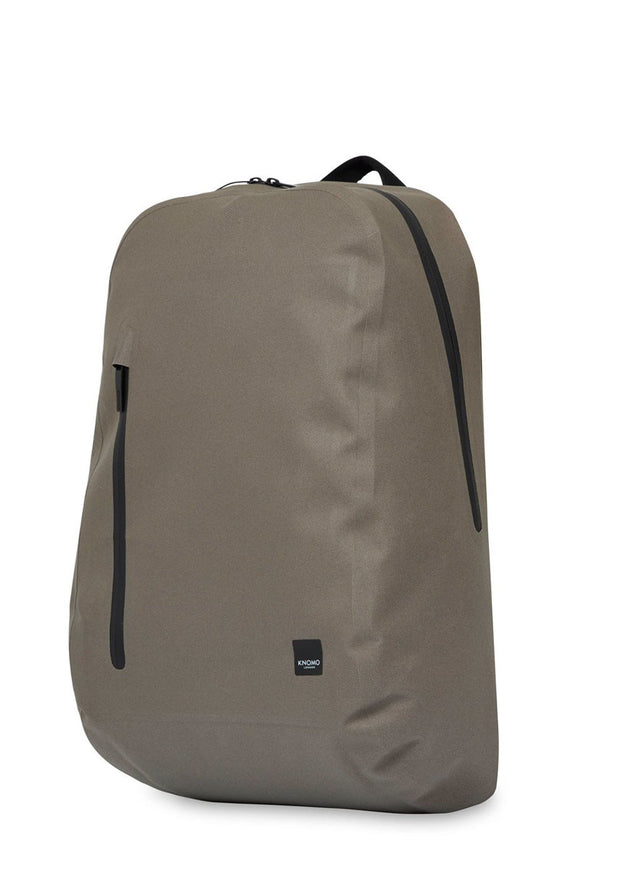 "Knomo Thames Harpsden 14"" Laptop Backpack Khaki - London Luggage"