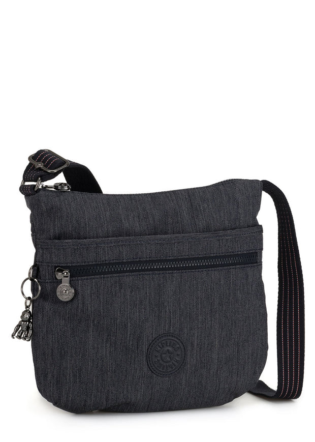 Kipling Arto Cross Body Shoulder Bag - Active Denim - London Luggage
