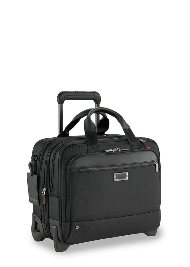 Briggs & Riley @Work Medium 2-Wheel Expandable Brief - London Luggage