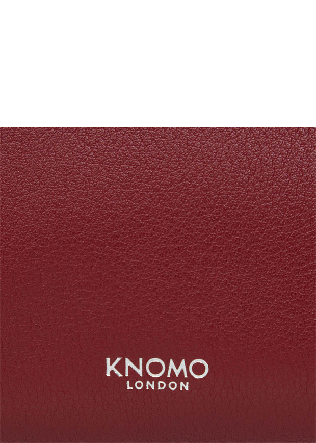 "Knomo Mayfair Luxe 10.5"" Leather Knomad Organiser - London Luggage"