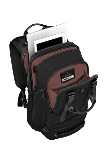 "Victorinox Lexicon Professional Bellevue 15.6"" Laptop Backpack - London Luggage"