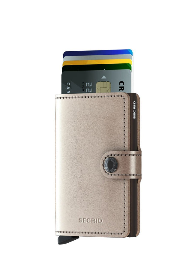 Secrid Miniwallet Metallic - London Luggage