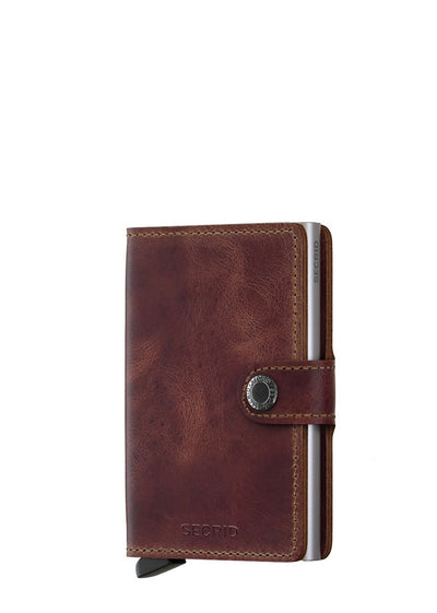 Secrid Miniwallet Vintage Brown - London Luggage