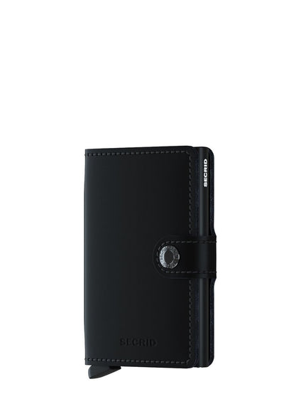 Secrid Miniwallet Matte Black - London Luggage