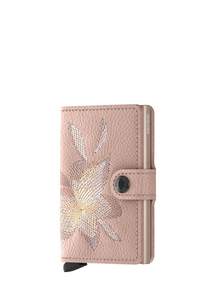 Secrid Miniwallet Stitch Magnolia Rose - London Luggage