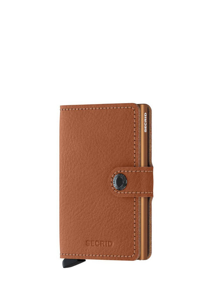 Secrid Miniwallet Vegetable Tanned Caramello - London Luggage
