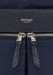 "Knomo Mayfair Beauchamp 14"" Backpack Navy- Classic - London Luggage"