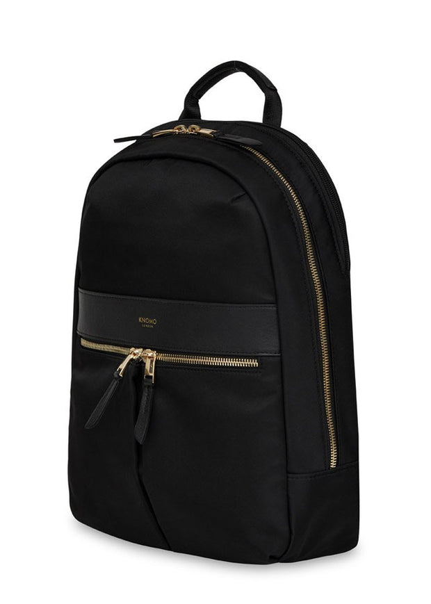 "Knomo Mini Beaufort 12"" Backpack Black - London Luggage"