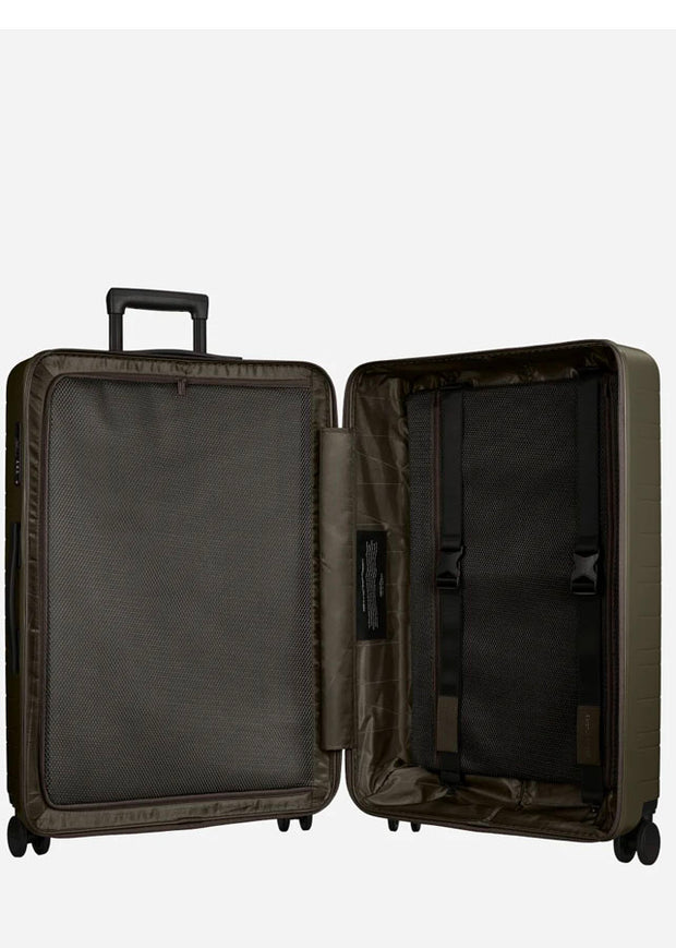 Horizn H7 Check-In Luggage L - Dark Olive - London Luggage