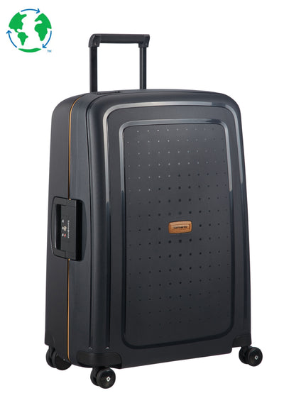 Samsonite S'Cure ECO Spinner 69cm Black - London Luggage